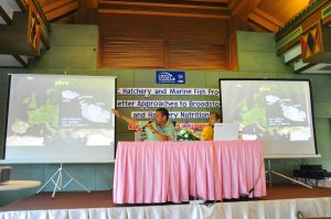 USSEC Seminar on Broodstock Biosecurity and Nutrition with Dr.Robert V.Agius