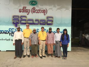 Khaing Thazin Feedmill in Shwe Bo, Myanmar