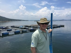 USSEC Demonstration Site on Lake Taal, Philippines