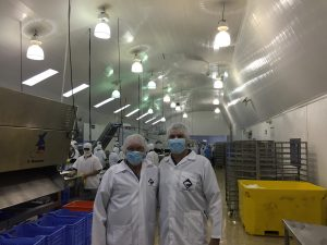 Visit to the S.O.N.G.A. Shrimp Processing Factory in Guayaquil, Ecuador