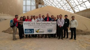 SEA Stakeholder Team in front of US soy