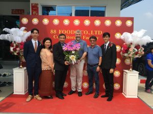 USSEC Participation in the opening of 88 Group's Processing and Cold Storage Plant in Thailand