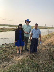 Visit to a potential demonstration cooperator with a potential new USSEC contractor in Myanmar