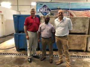 Meeting with the General Manager of Lake Harvest in Zambia