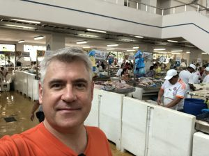 Visiting the Panamanian Fresh Seafood Market