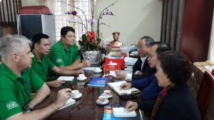 Meeting with the Vietnam Seaculture Association