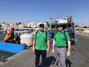 Marine fish transfer