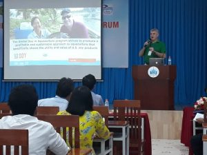 Presenting at RAF 11 in Nha Trang, Vietnam