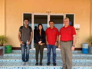 Meeting with Sunanta Farm in Chachoengsao, Thailand